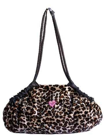 5-in-1 Diaper Tote Bag™ - Lollipop Leopard