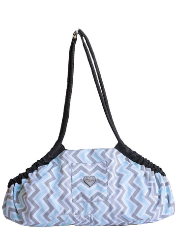 5-in-1 Diaper Tote Bag™ - Peek-a-Blue