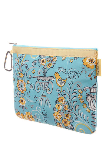 Diaper Clutch - Birdy n' Bloom, Large