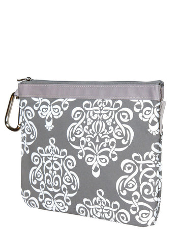 Diaper Clutch - Royal Mist
