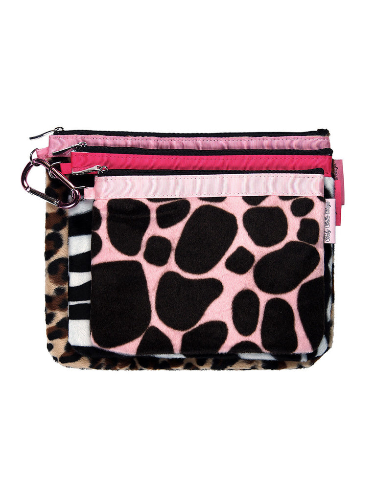Diaper Clutch Trio - Animal Print