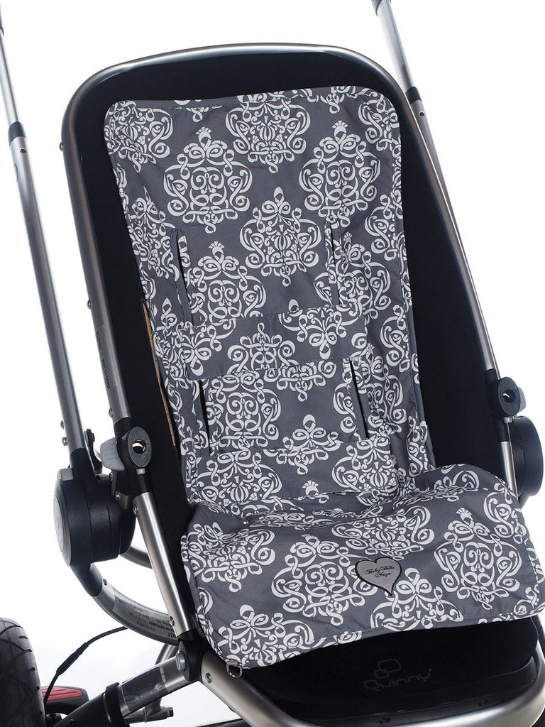 3-in-1 Stroller Pad - Royal Mist