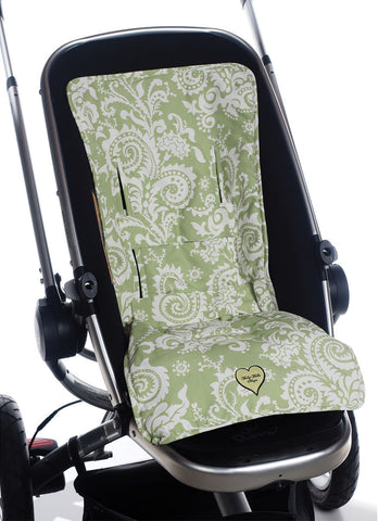 3-in-1 Stroller Pad - Sweet Pea