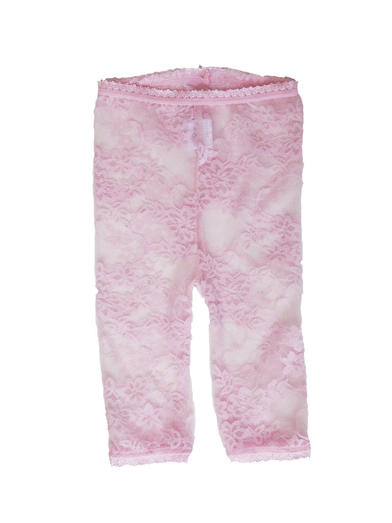 Lacy Leggings - Pink