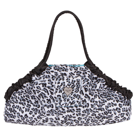 5-in-1 Diaper Tote Bag™ - Snow Leopard
