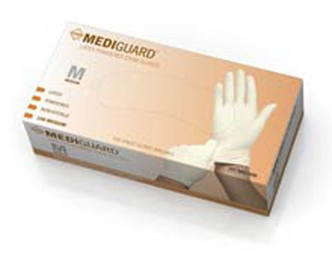MediGuard Non-Sterile Powdered Latex Exam Gloves - Price per 100: $5.95