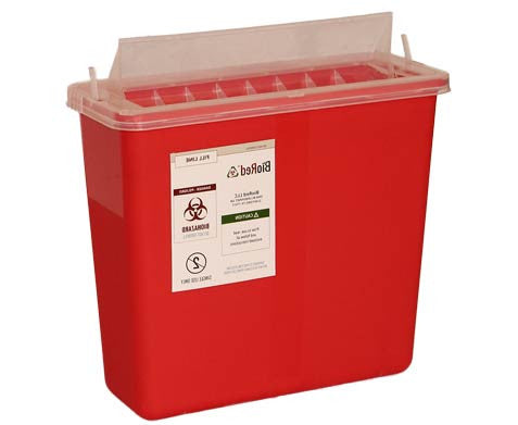 1 Gallon Wall Mount Sharps Container