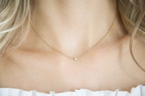 Fleur Necklace - Yellow Gold