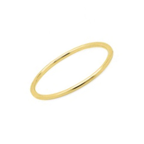 Midi Waif Ring - Yellow Gold