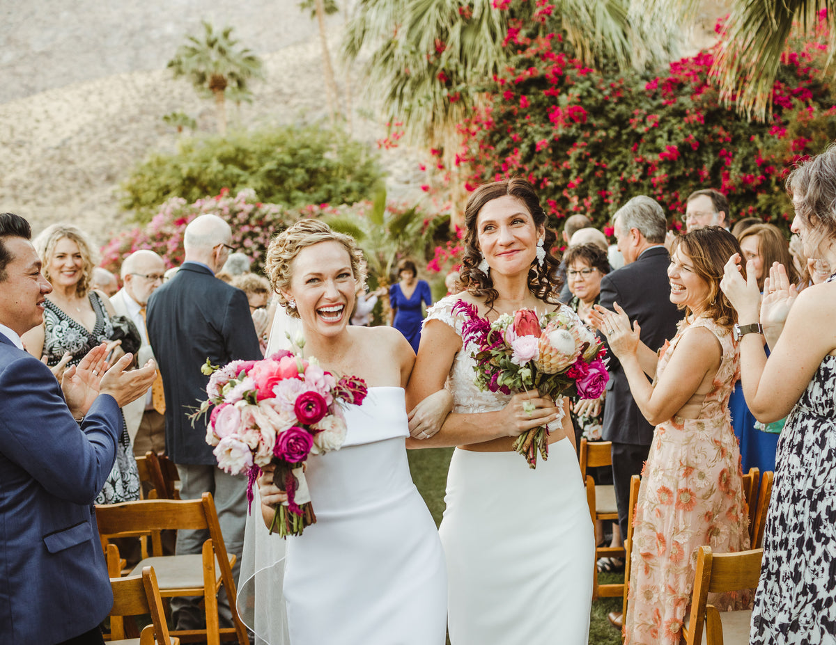 Katelyn + Sara's Gorgeous Palm Springs Nuptials
