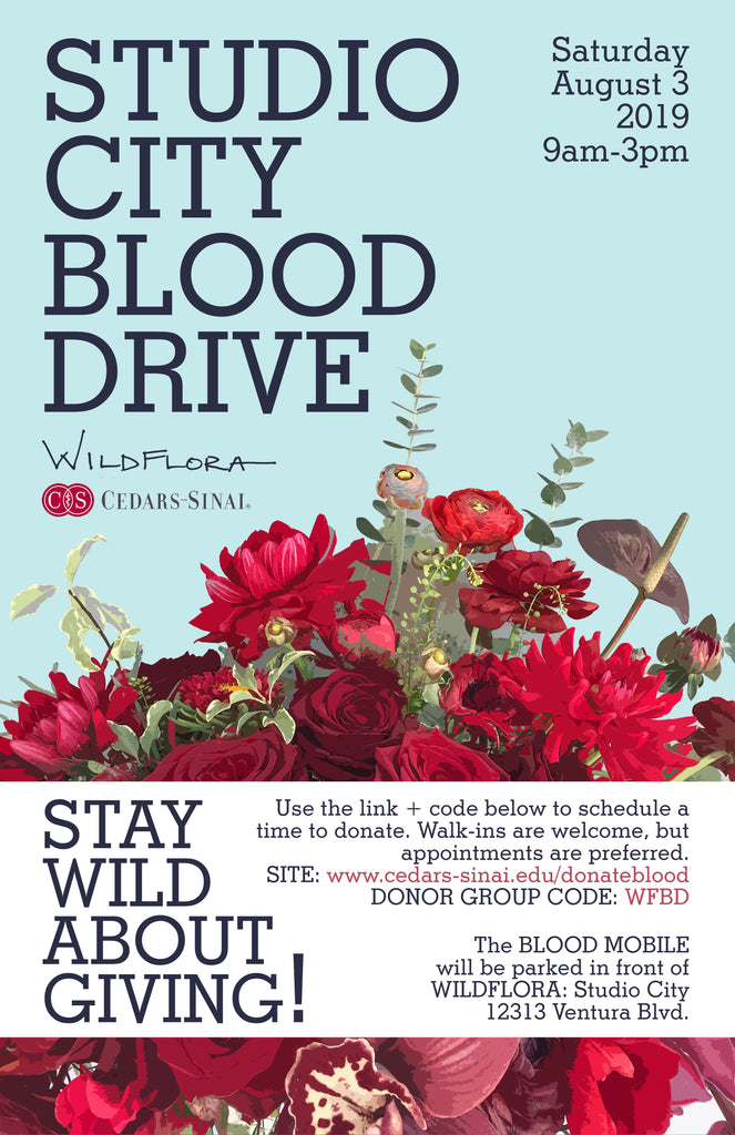 Join us on August 3rd for a Wild Blood Drive!