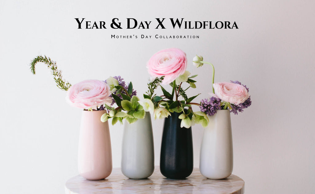 Year and Day x Wildflora Mother's Day Collab
