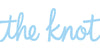 the knot logo wedding
