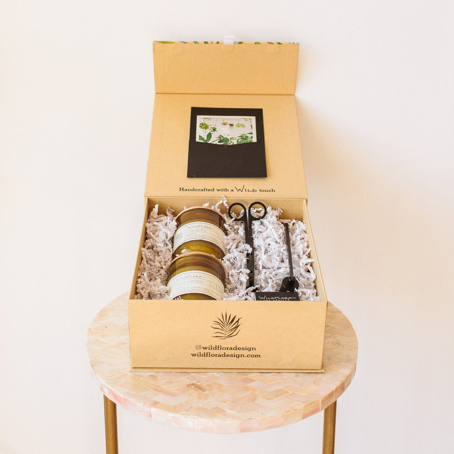 SHIPPABLE WildFlora Candle Kit