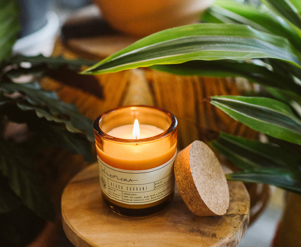WildFlora Candle Collection - Single Wick