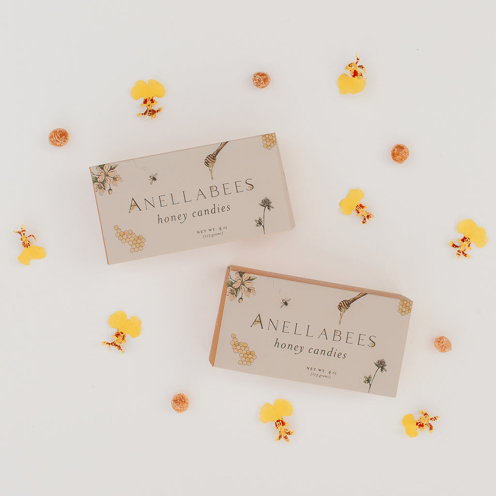 Anellabees Hard Honey Candies