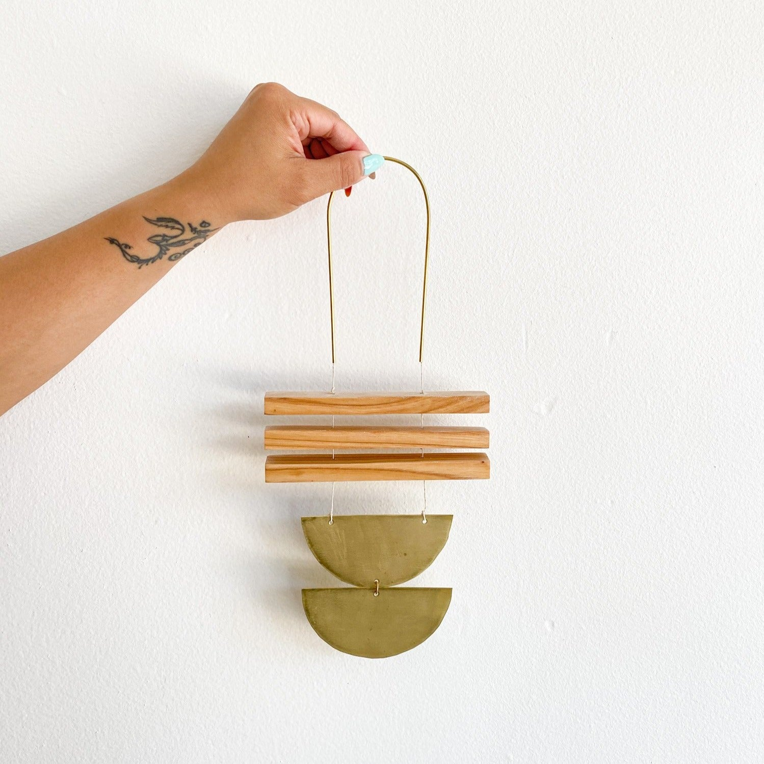 Ash + Brass Adora Wall Hanging