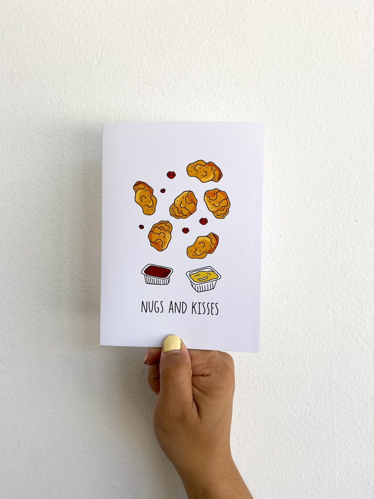 Greeting Card: Nugs & Kisses