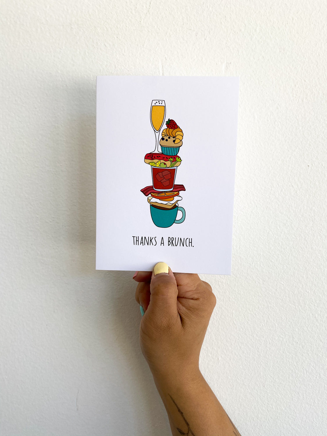 Greeting Card: Thanks a Brunch