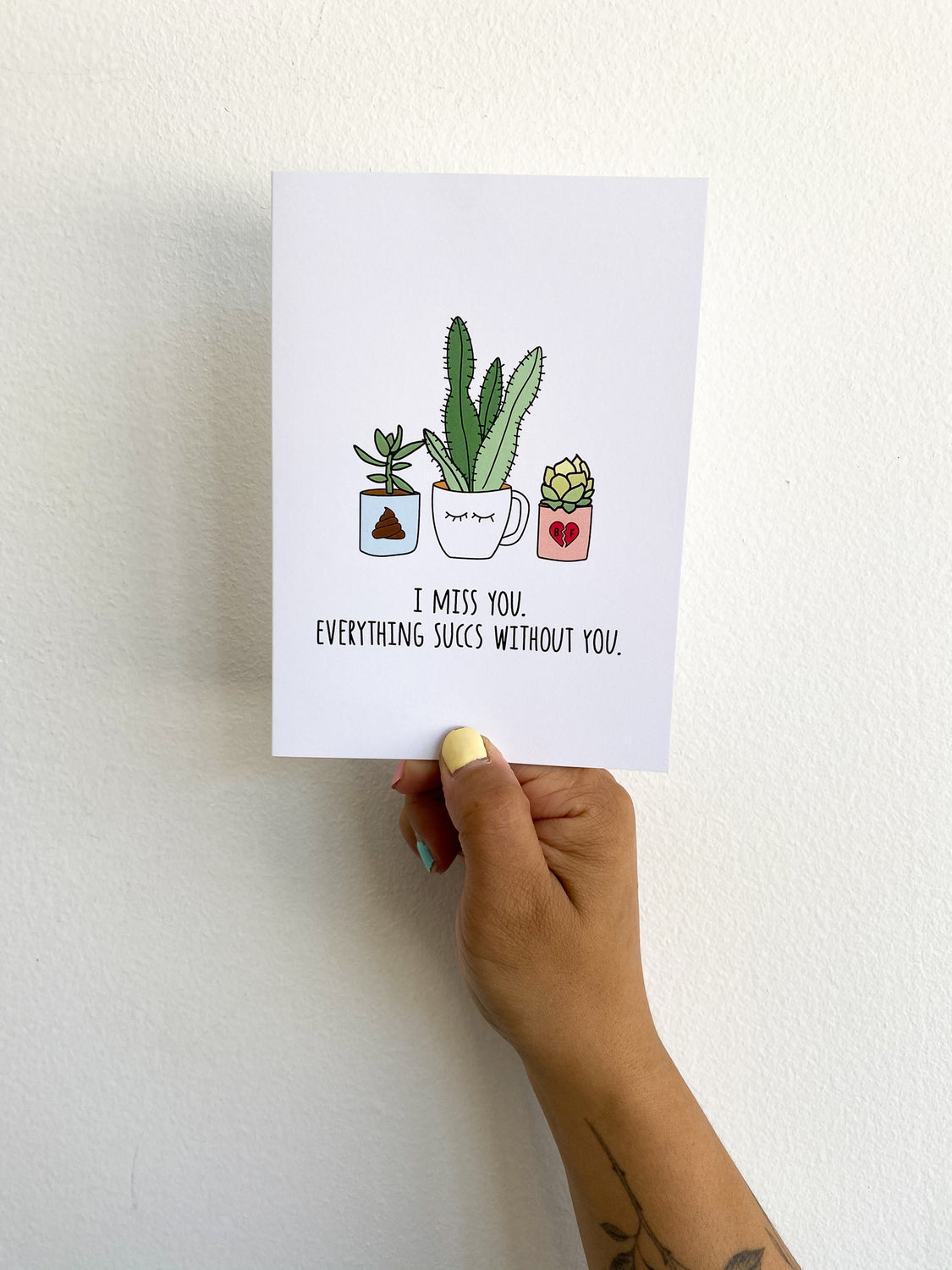 Greeting Card: Everything Succs