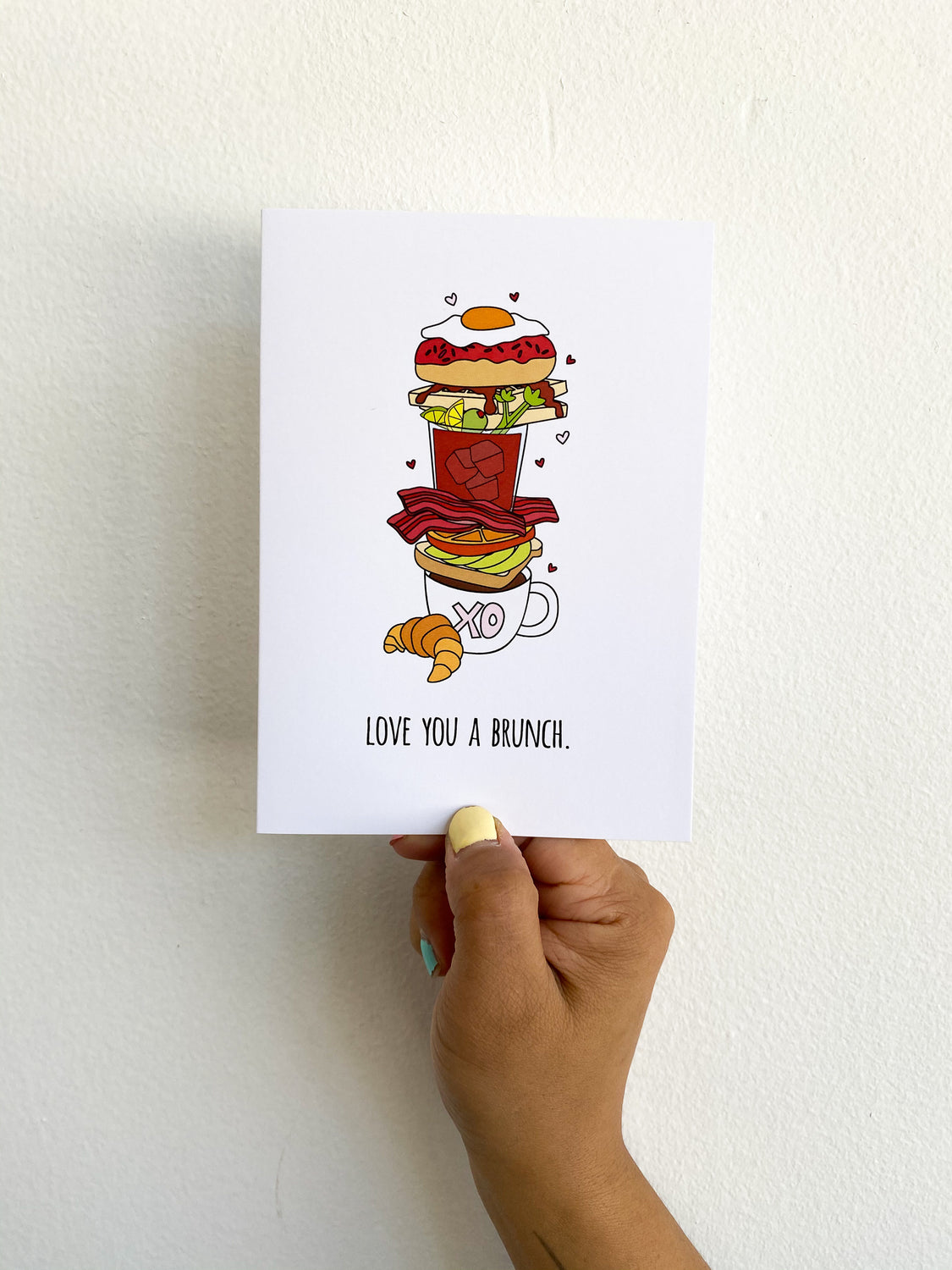 Greeting Card: Love you a Brunch