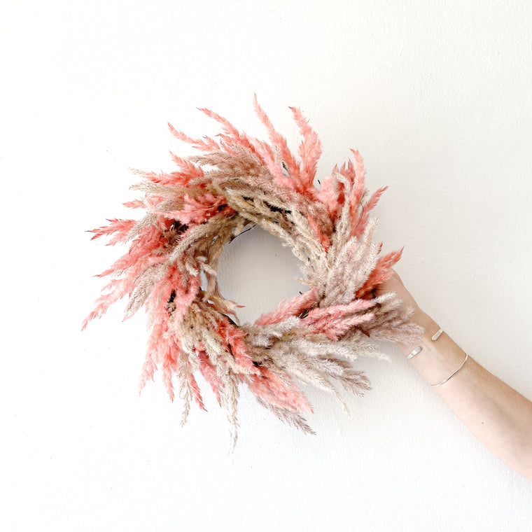 Coral Dreams Wreath