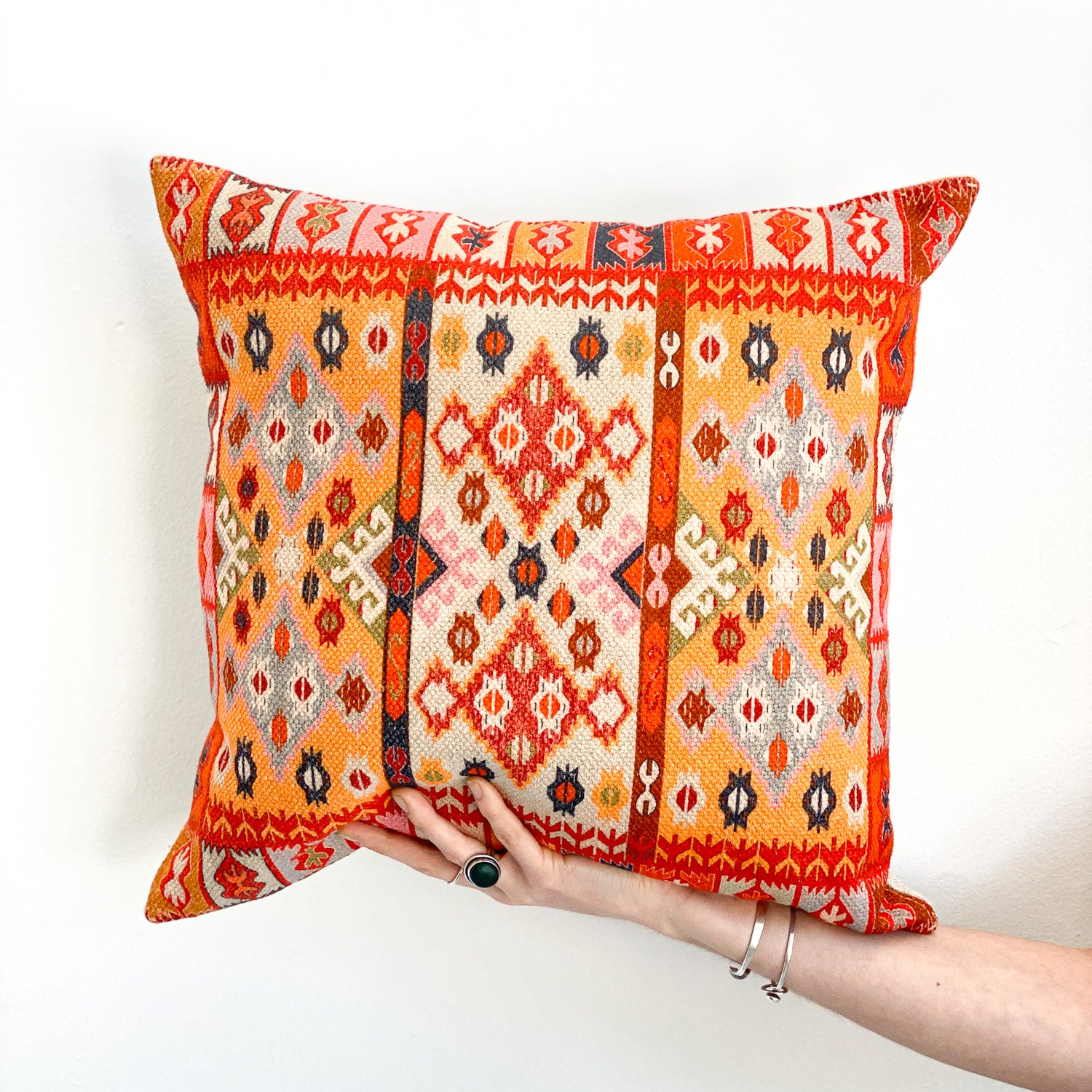 Accent Pillow: Multicolor Budack