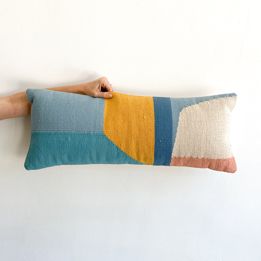 Lumbar Pillow: Geo Shapes