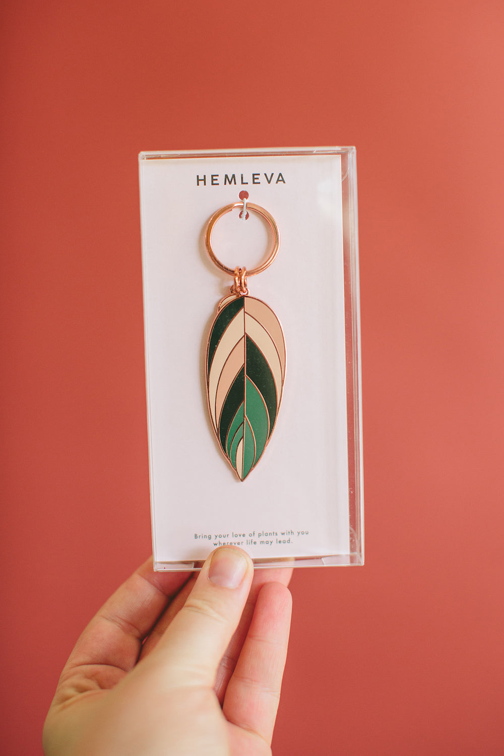 Hemleva Botanical Key Chain