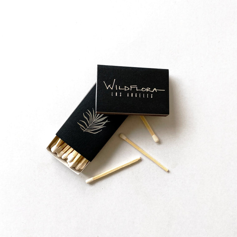 WildFlora Match Book