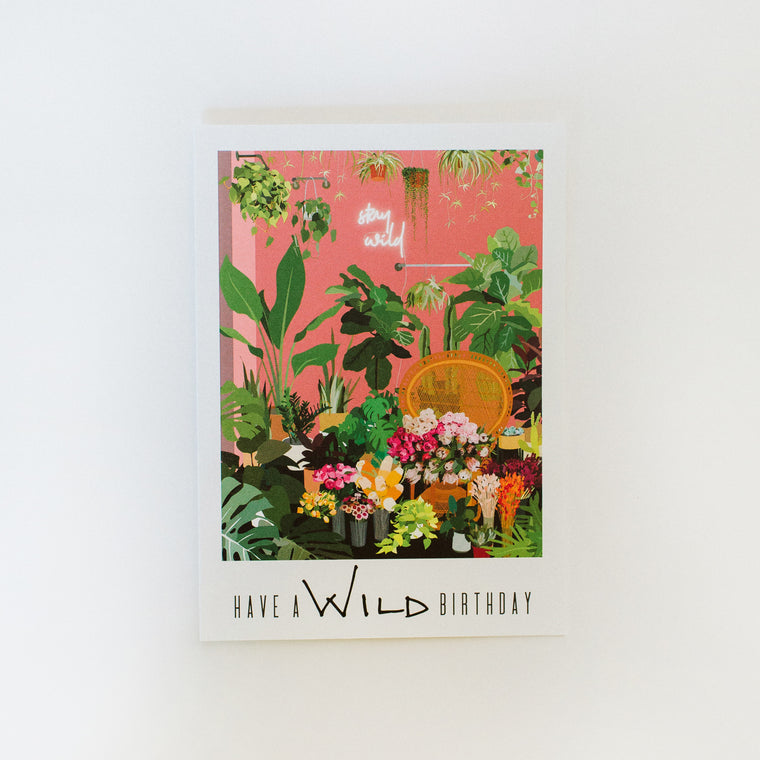 Greeting Card: Have a WILD Birthday