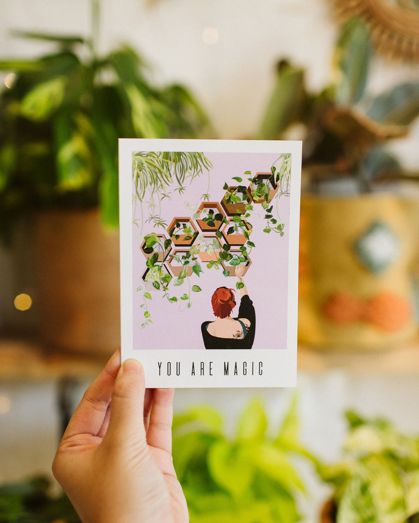 Greeting Card: You Are Magic