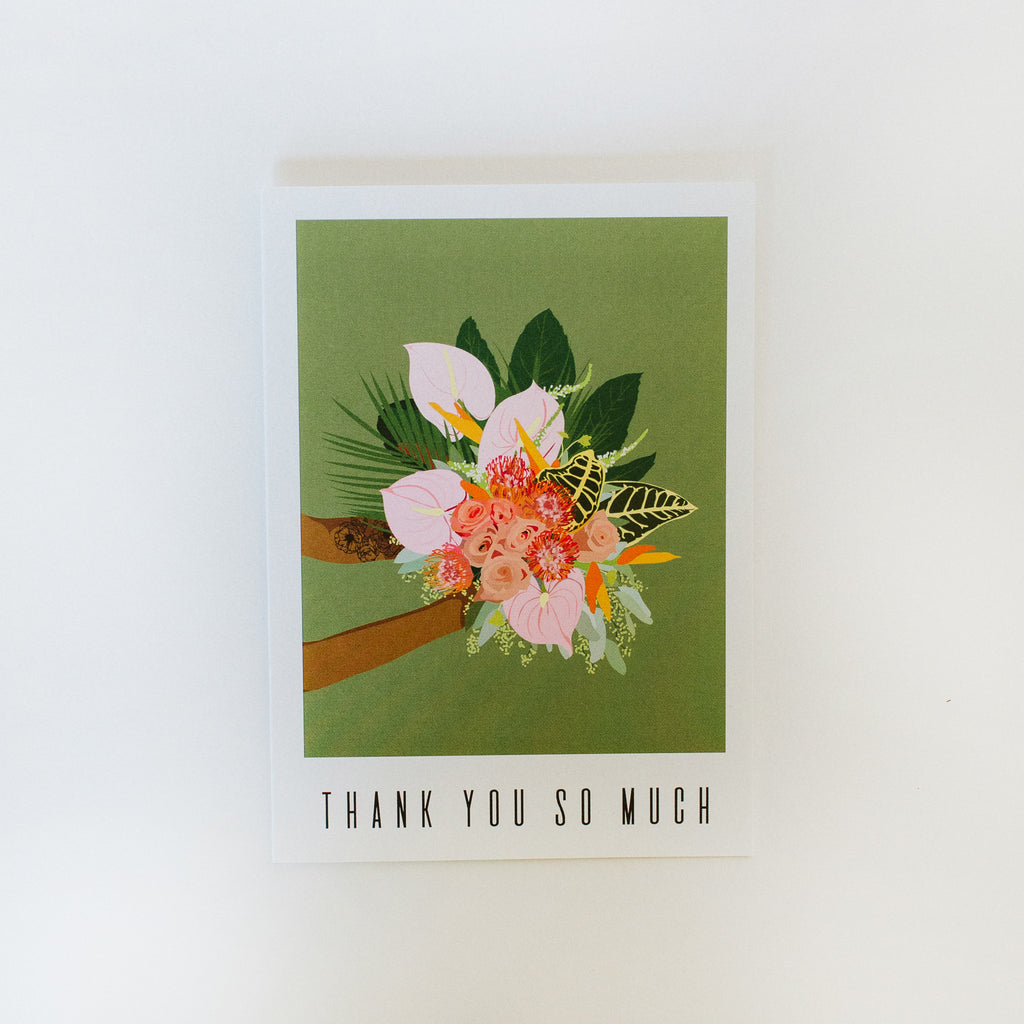 Greeting Card: Thank You So Much