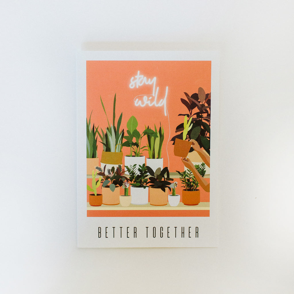 WildFlora Greeting Card: Full Collection