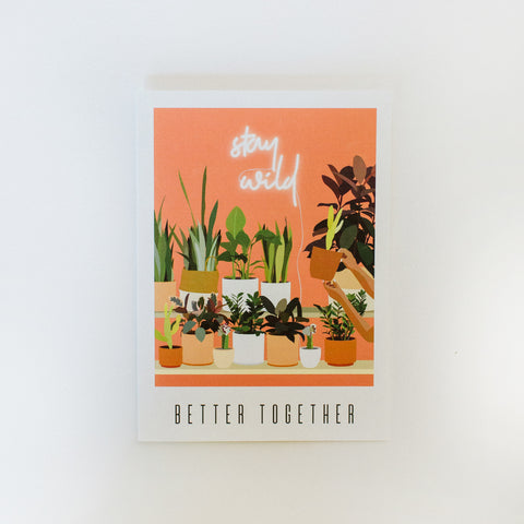 Greeting Card: Better Together