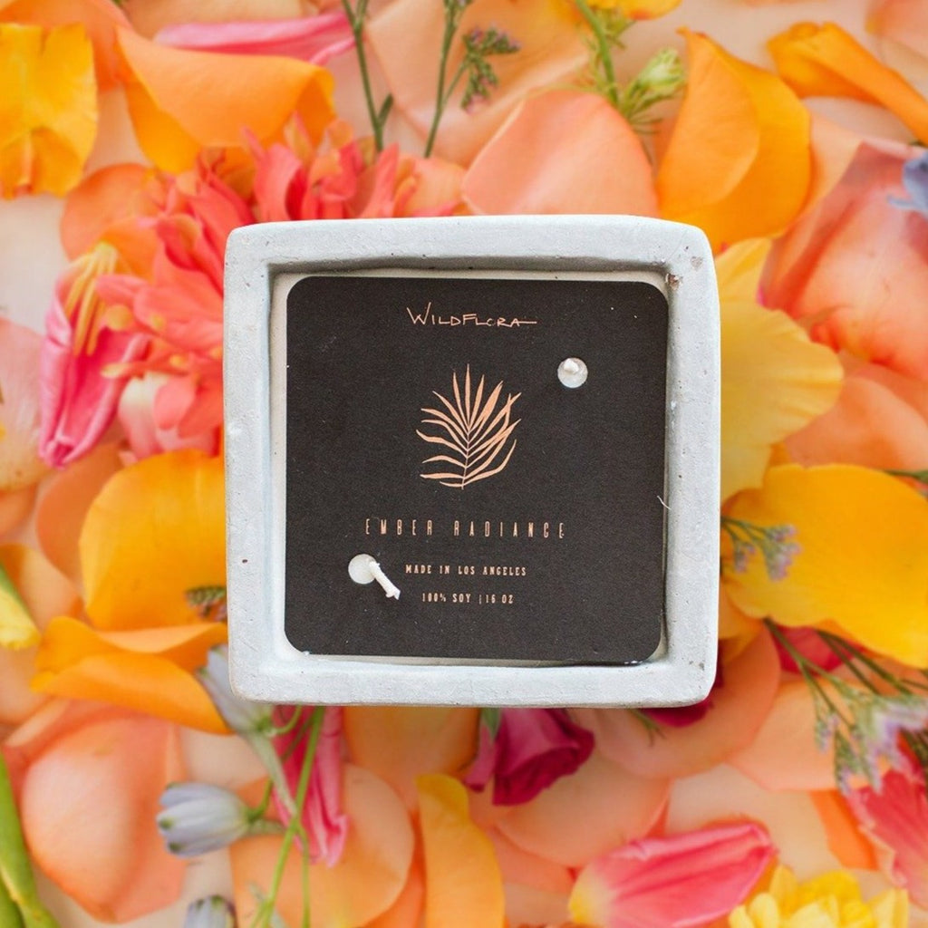 WildFlora Candle Collection - Double Wick
