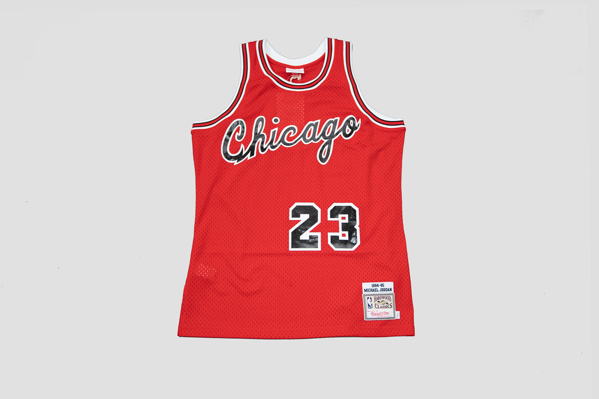 Authentic Jersey 1984 Bulls Michael Jordan