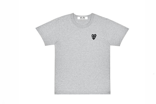 CDG PLAY Double Black Heart T-Shirt