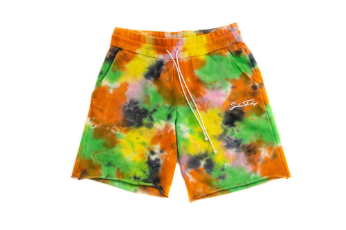 SF TIE DYE CHAMPMAN SWEAT SHORT