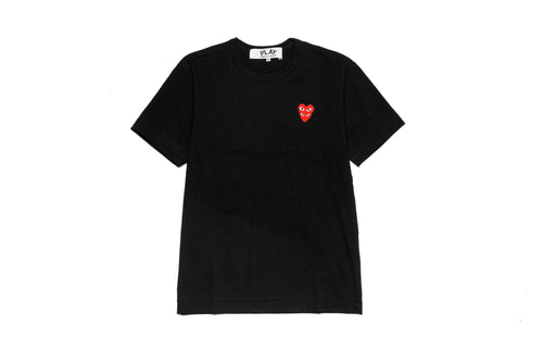 CDG PLAY Double Red Heart T-Shirt