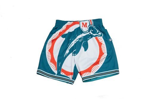 NFL Big Face Miami Dolphins Shorts