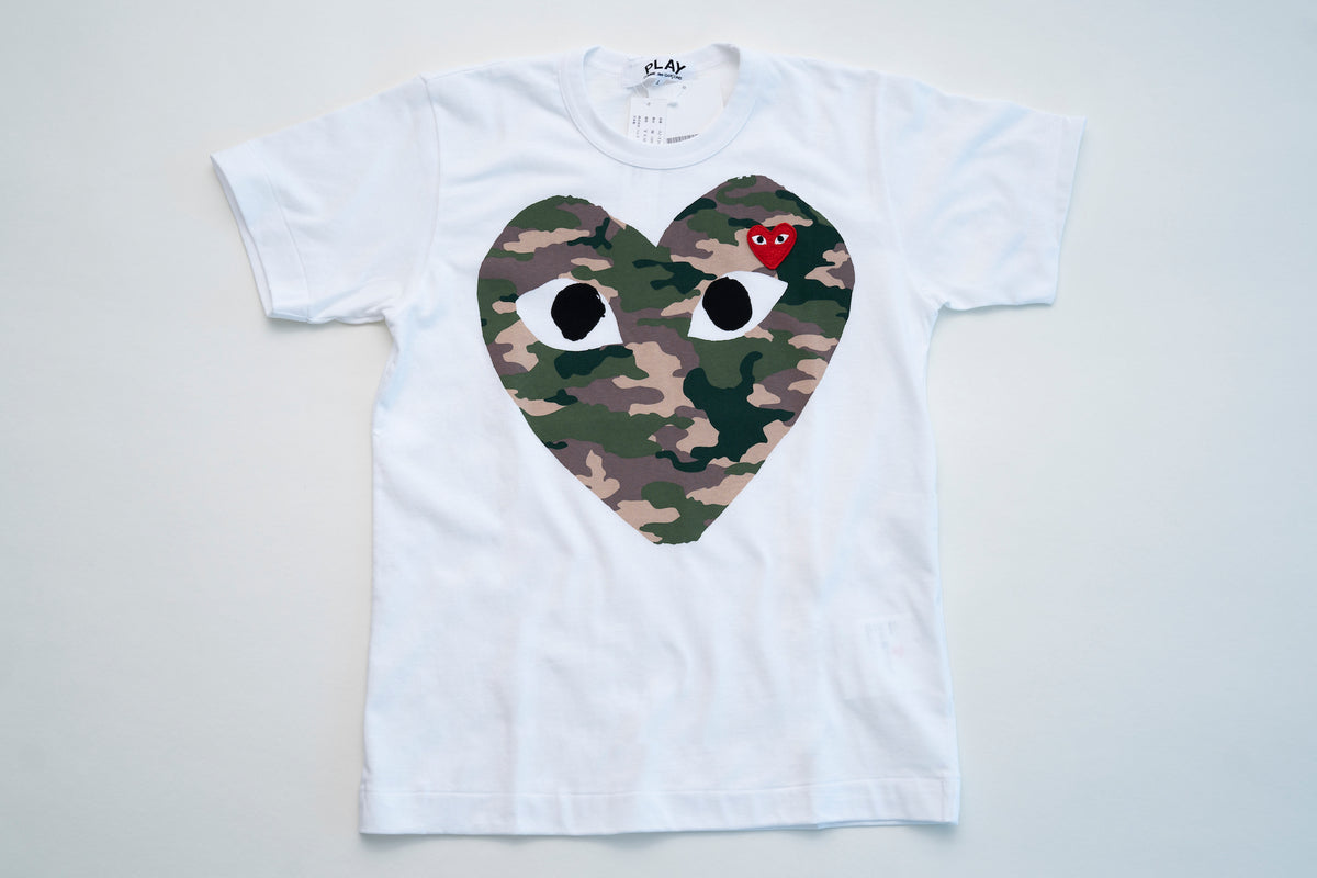 Camo Big Heart Play T-Shirt