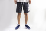 Nike AW77 French Terry Alumni Short  Color: Carbon Grey/White  Style Number: 836277-032