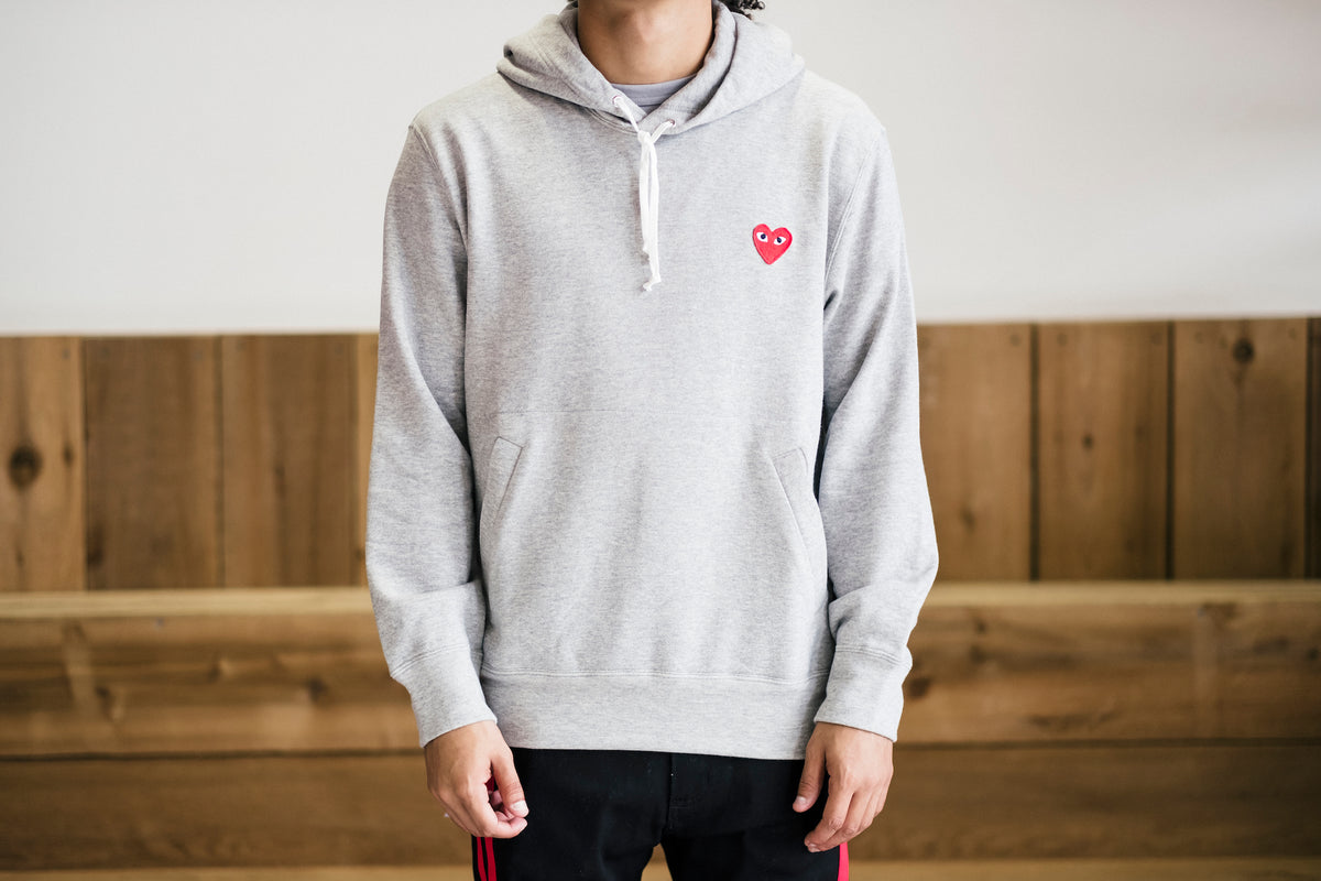 Red Heart Play Hoodie