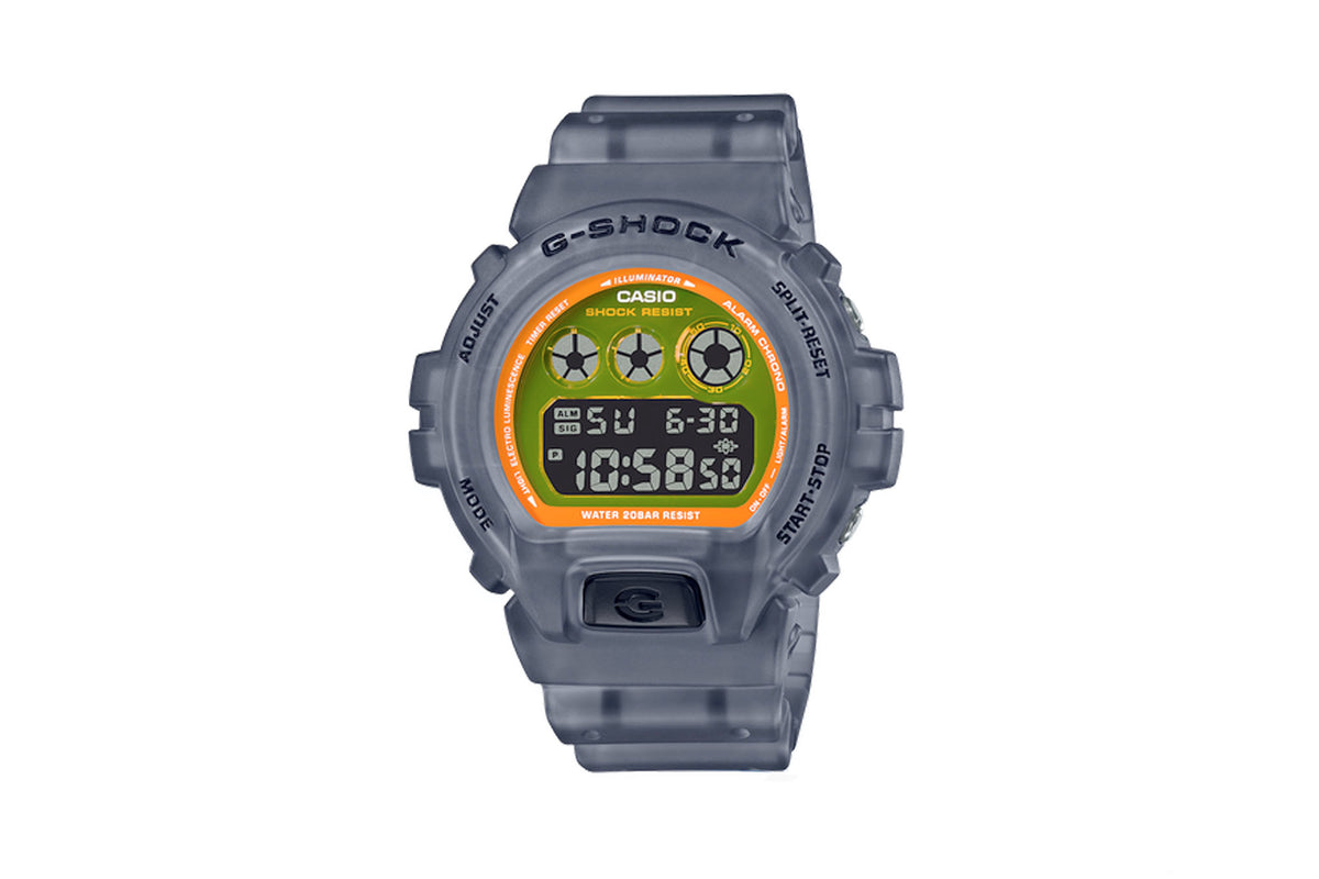G-Shock DW6900 Semi-Transparent Watch