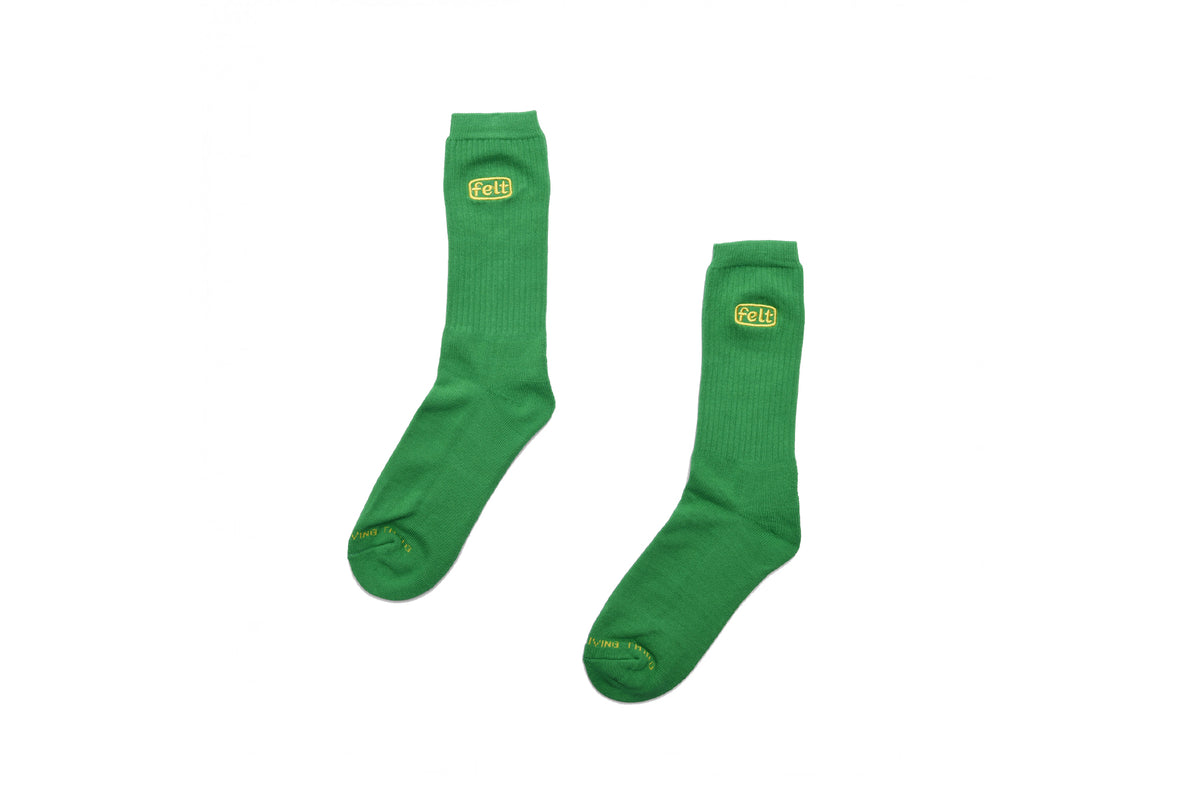 Felt Kelly Green Everyday Sock