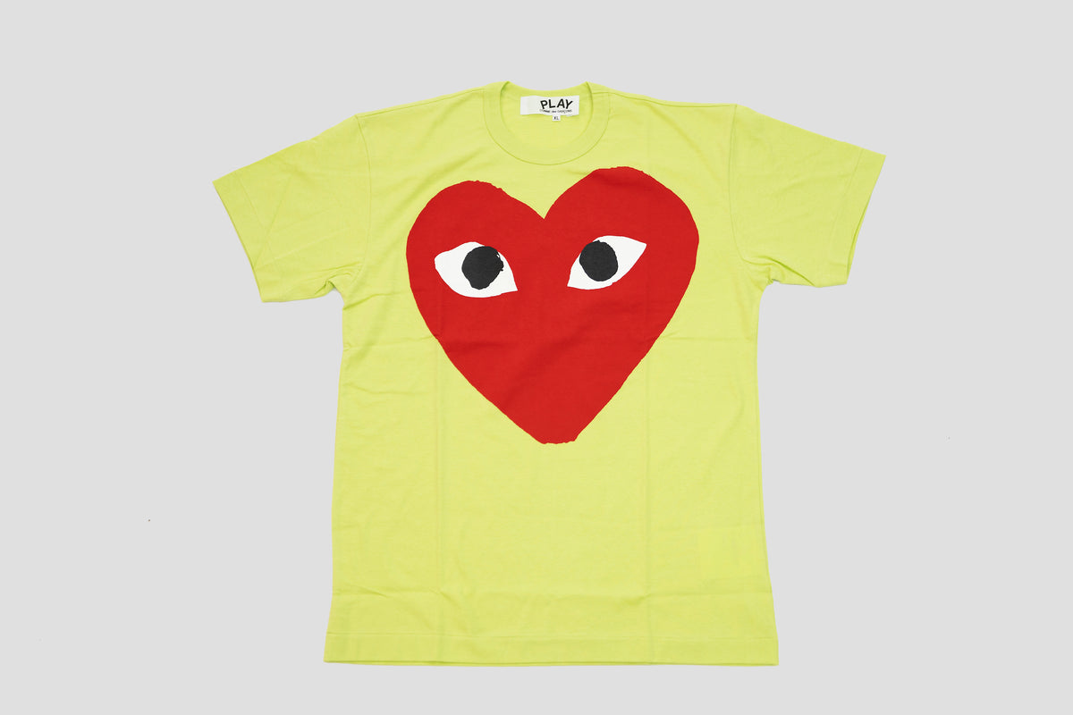 CDG PLAY Big Red Heart T-Shirt