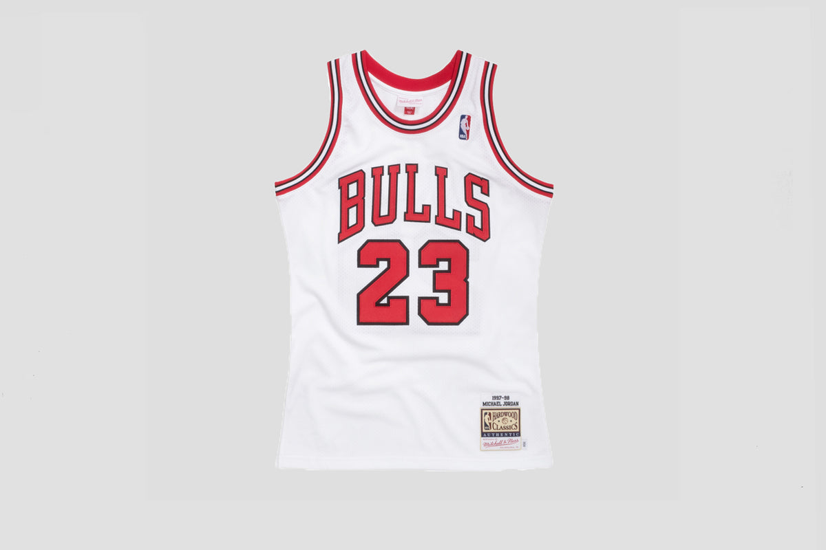 Authentic Jersey 1997 Bulls Michael Jordan