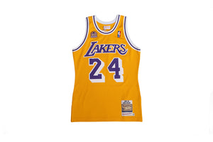 Authentic Jersey Los Angeles Lakers 2007-08 Kobe Bryant 60Th Anniversary