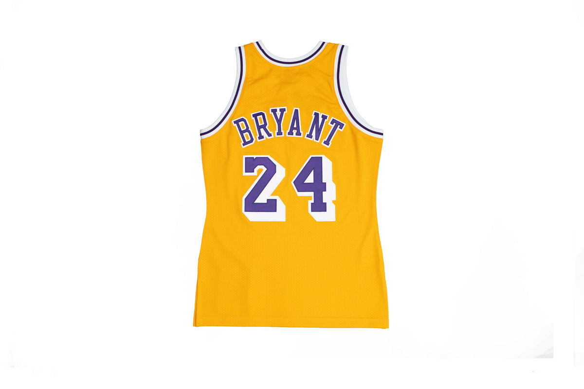 Authentic Kobe Bryant Los Angeles Lakers 2007-08 60th Anniversary Jersey